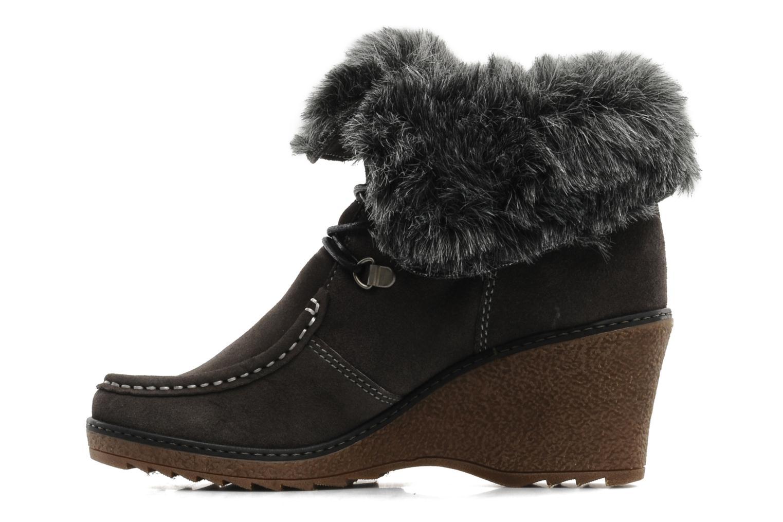 Boots en enkellaarsjes Le temps des cerises Keren Grijs voorkant