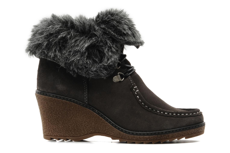 Boots en enkellaarsjes Le temps des cerises Keren Grijs achterkant