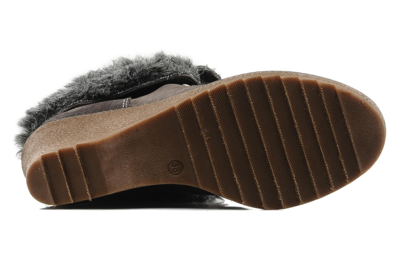 Stiefeletten & Boots Le temps des cerises Keren grau ansicht von oben