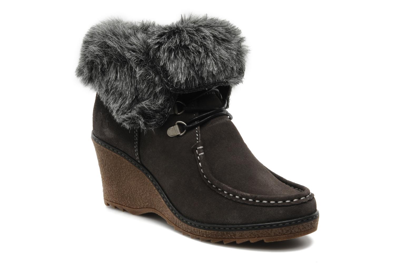 Boots en enkellaarsjes Le temps des cerises Keren Grijs detail