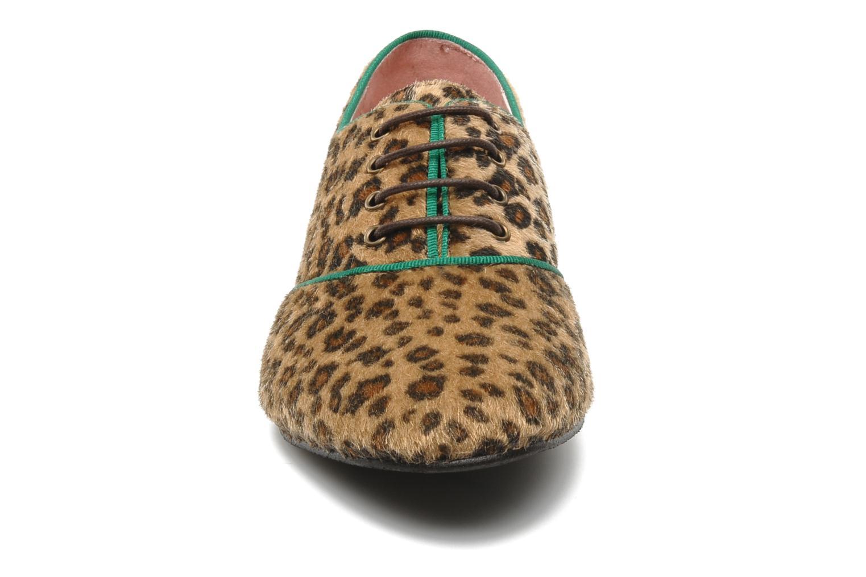 Chaussures à lacets Le temps des cerises Edin Multicolore vue portées chaussures