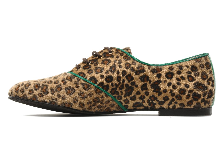Chaussures à lacets Le temps des cerises Edin Multicolore vue face