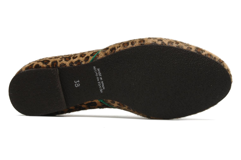 Chaussures à lacets Le temps des cerises Edin Multicolore vue haut
