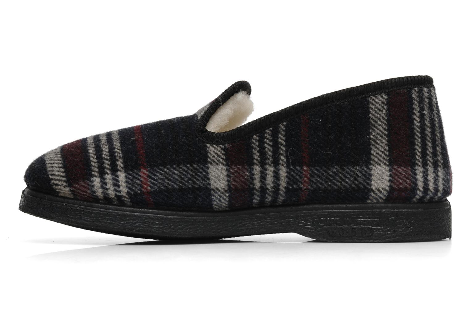 Slippers Rondinaud Domancy Black front view