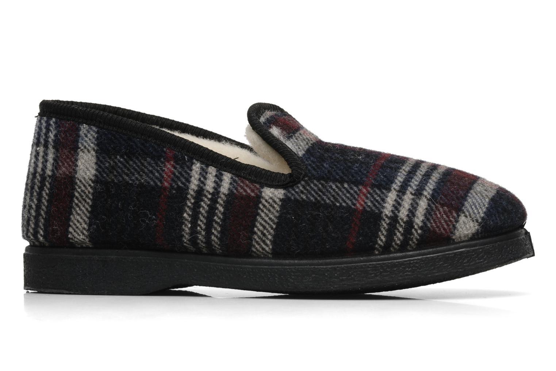 Pantofole Rondinaud Domancy Nero immagine posteriore