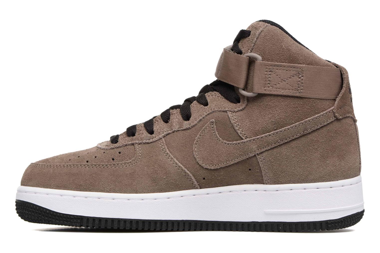 Baskets Nike Air Force 1 High'07 Marron vue face
