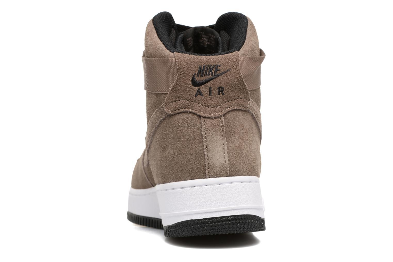 Baskets Nike Air Force 1 High'07 Marron vue droite