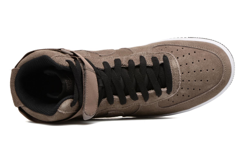 Baskets Nike Air Force 1 High'07 Marron vue gauche