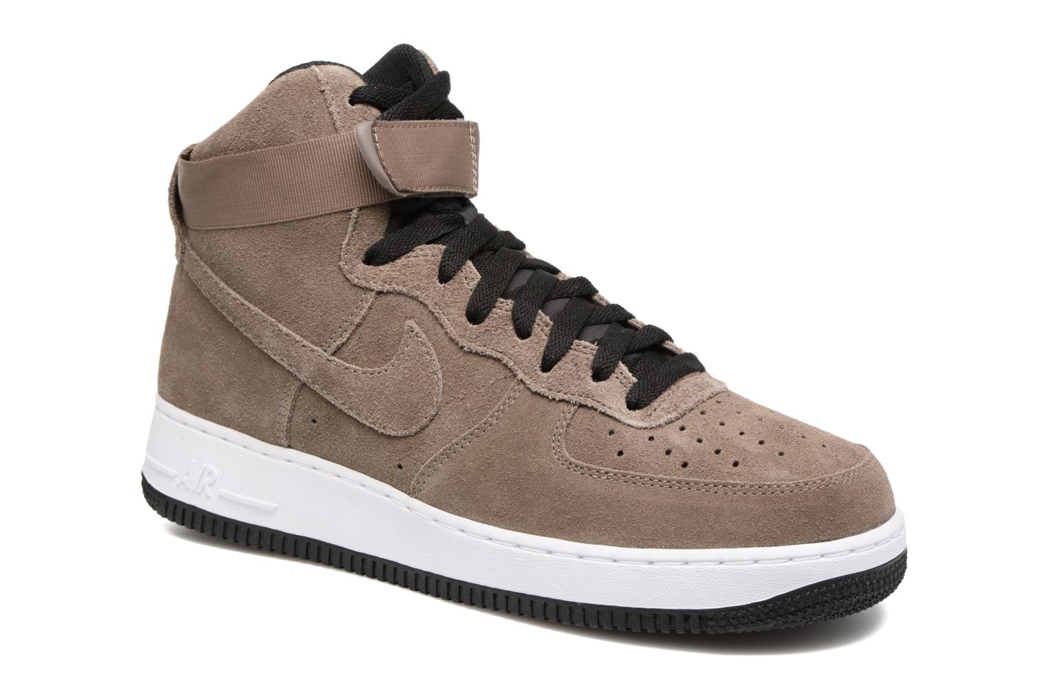 Nike Air Force 1 High'07 (Marron) - Baskets chez Sarenza (280752)