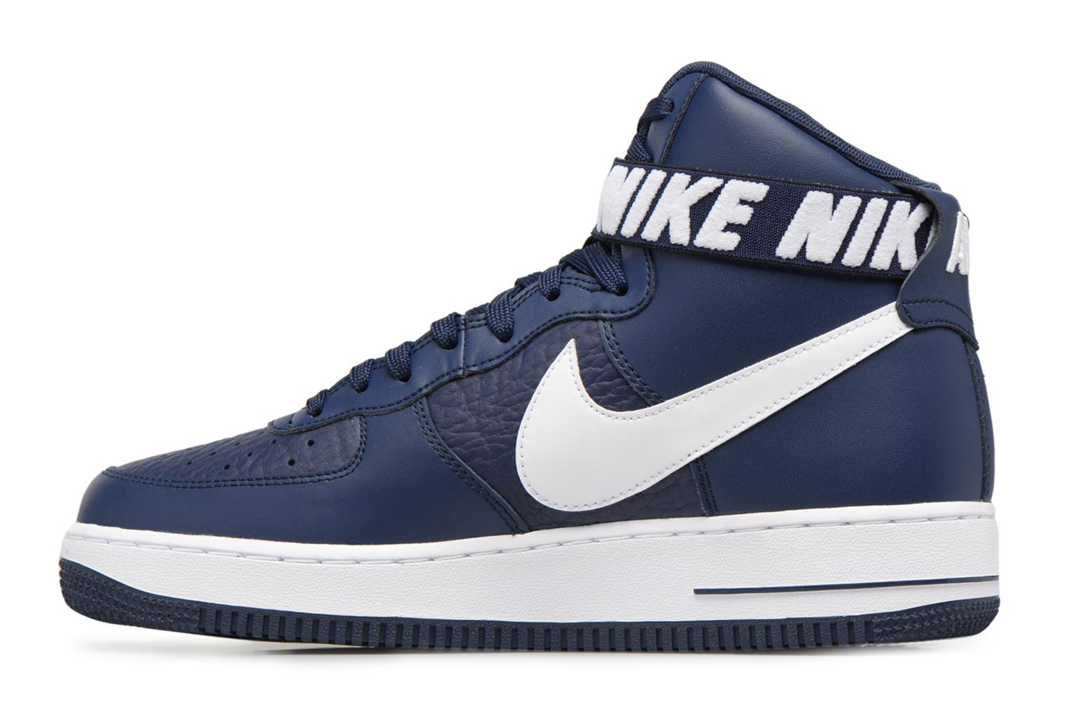 Baskets Nike Air Force 1 High'07 Bleu vue face
