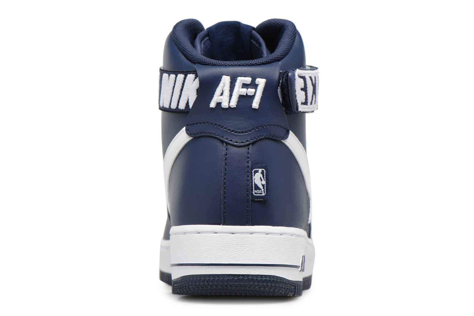 Baskets Nike Air Force 1 High'07 Bleu vue droite