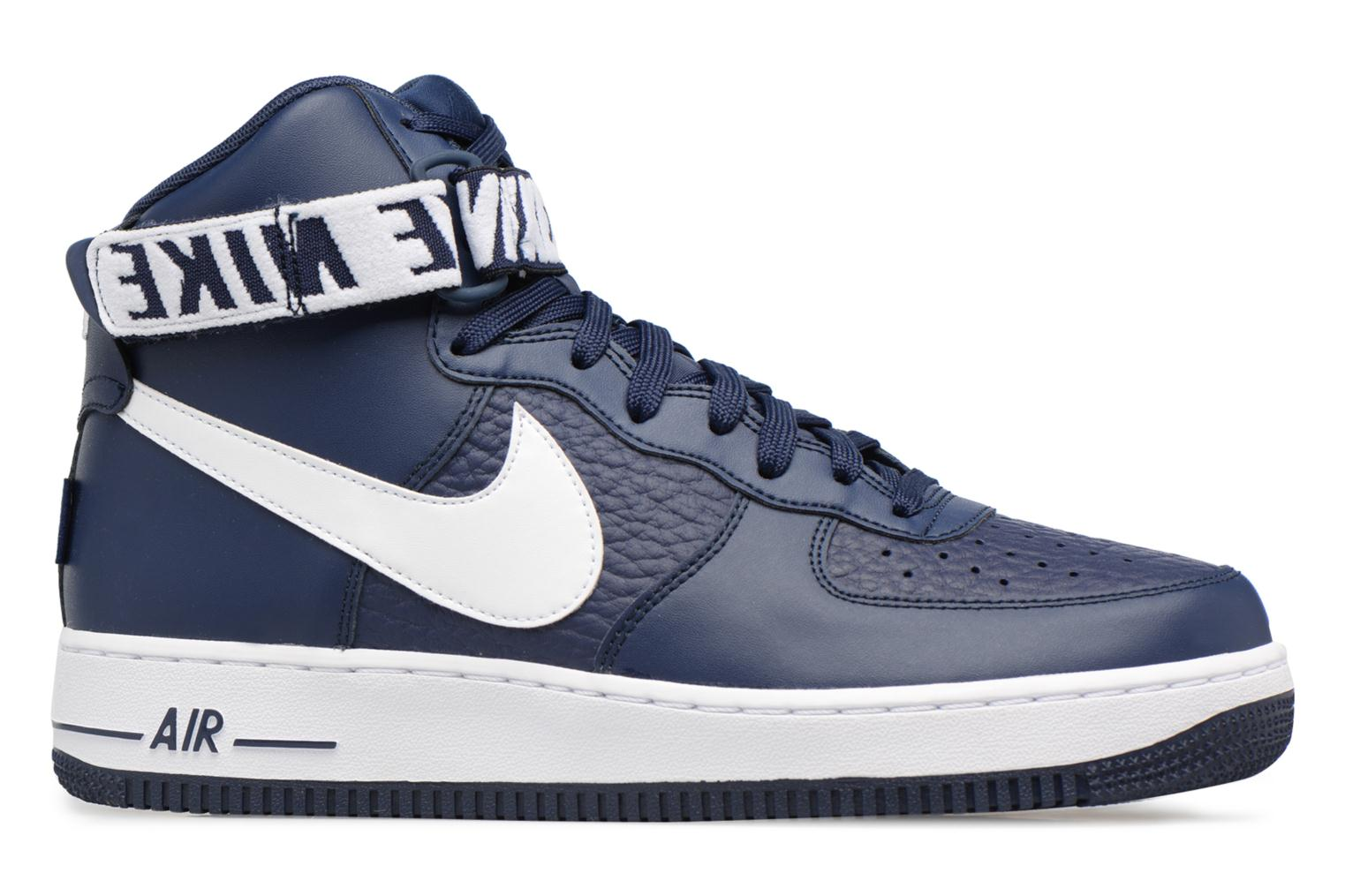 Baskets Nike Air Force 1 High'07 Bleu vue derrière