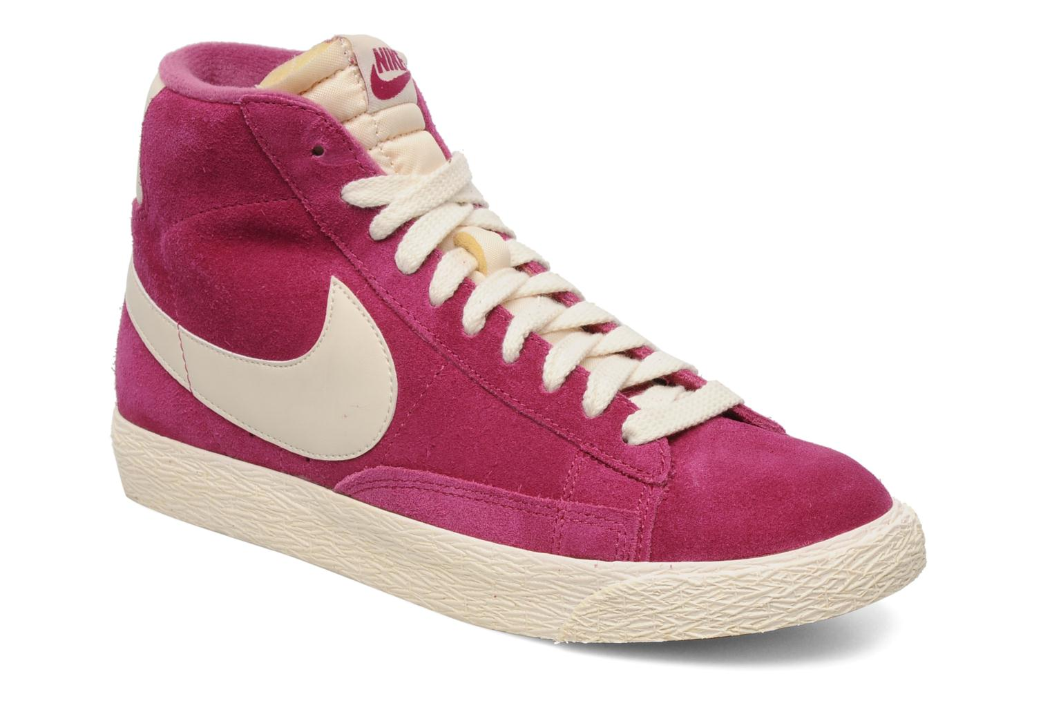 pretty nice 65d97 63202 Trainers Nike Wmns Blazer Mid Suede Vintage Pink detailed view  Pair view