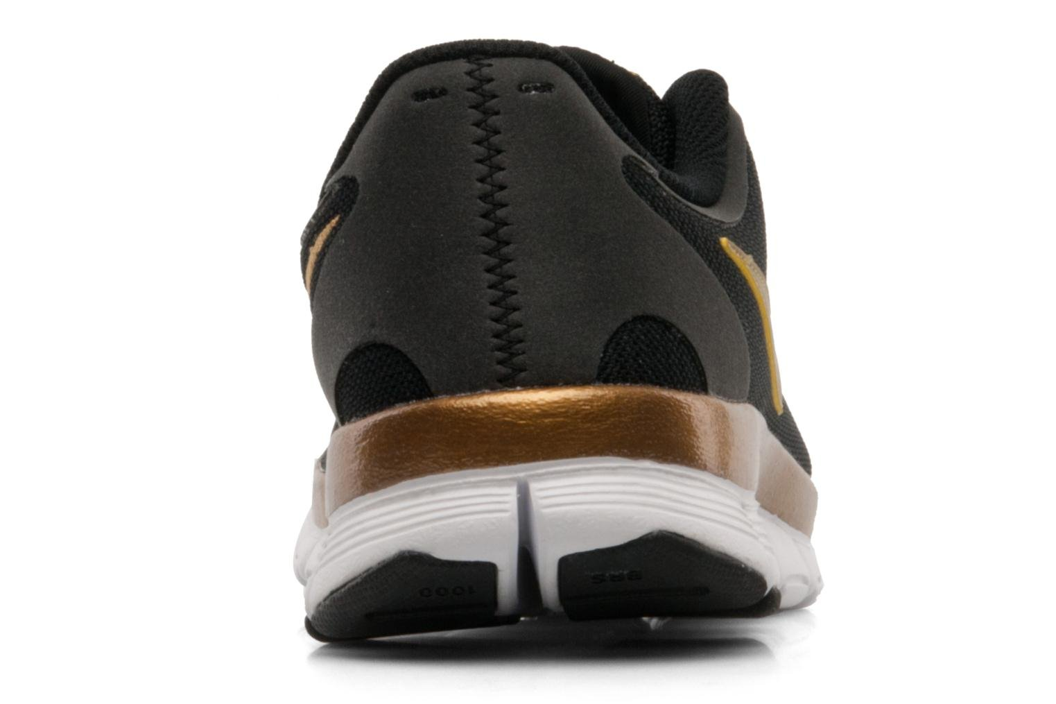 Wmns Nike Free 5.0 V4 Black/Metallic Gold-White-Black