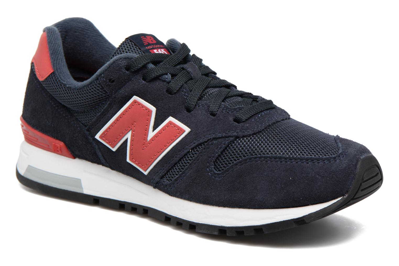 ML565 Navy/Red/Navy