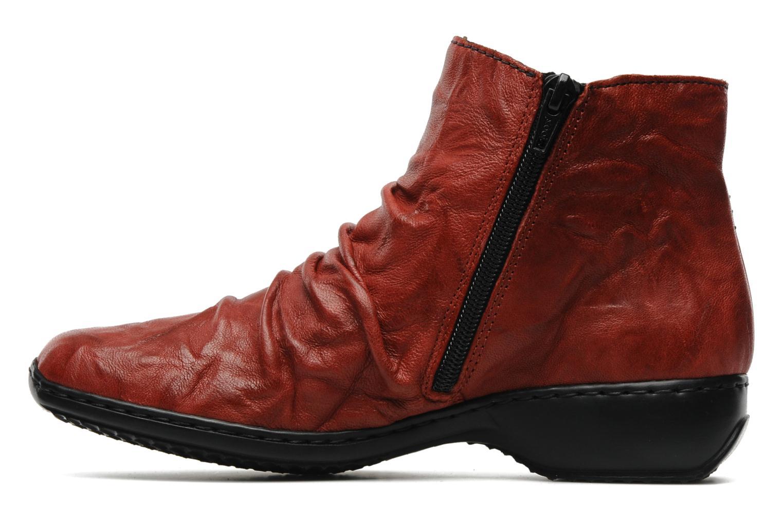 Bottines et boots Rieker Rinho Z3883 Bordeaux vue face