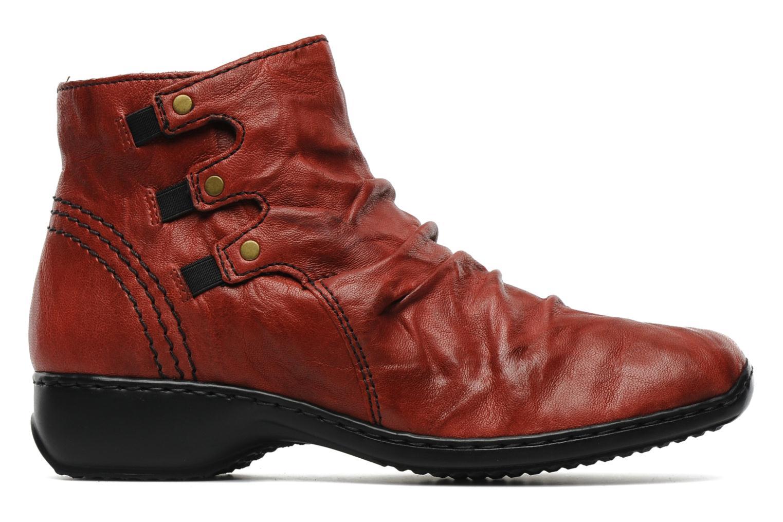 Bottines et boots Rieker Rinho Z3883 Bordeaux vue derrière