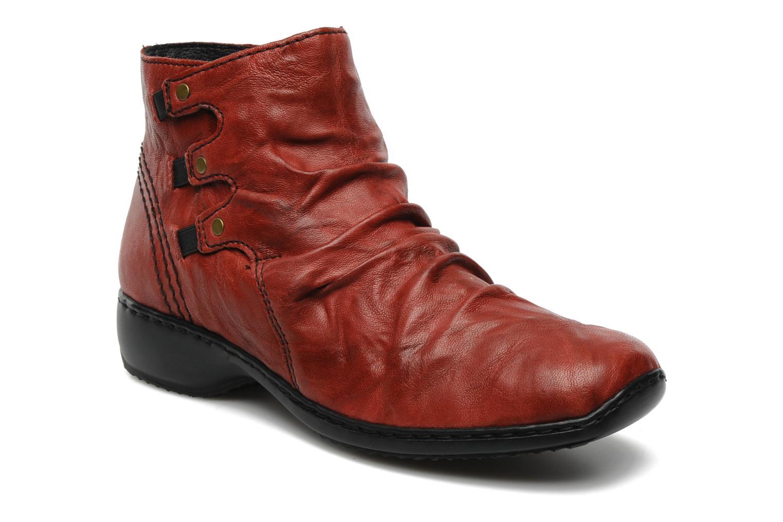 Bottines et boots Rieker Rinho Z3883 Bordeaux vue détail/paire