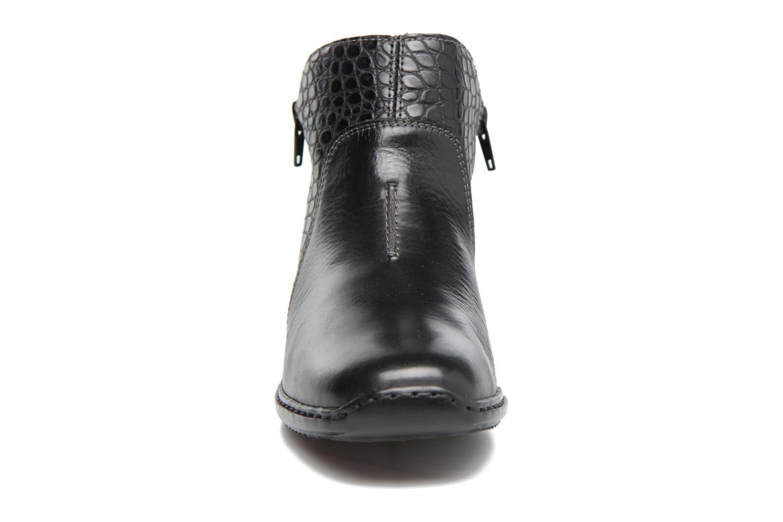 Bottines et boots Rieker Doro L3869 Noir vue portées chaussures