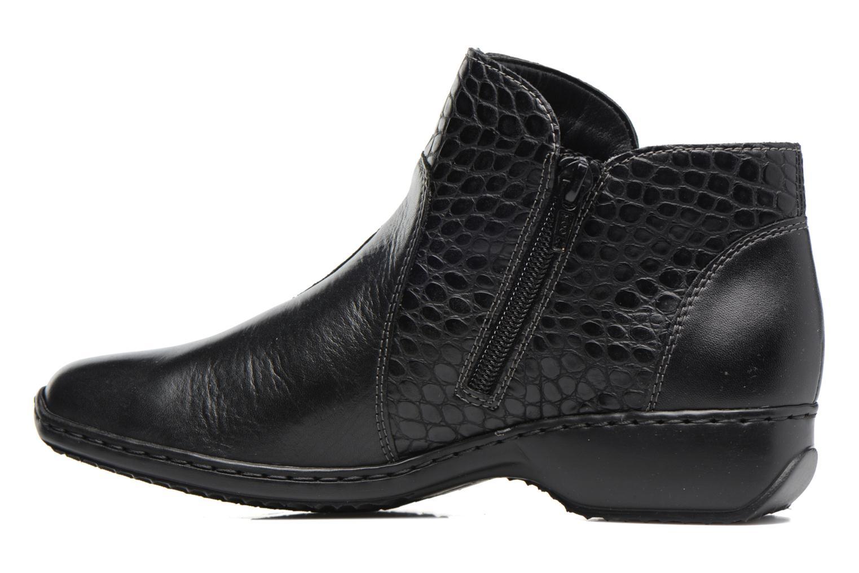 Bottines et boots Rieker Doro L3869 Noir vue face