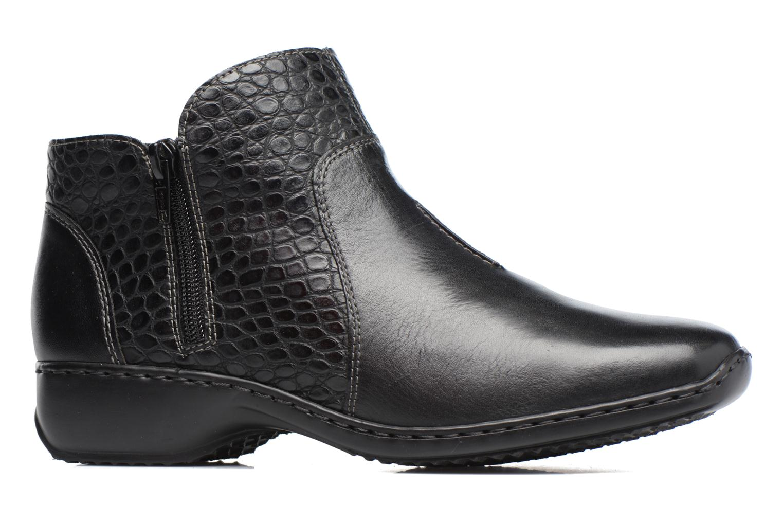 Bottines et boots Rieker Doro L3869 Noir vue derrière