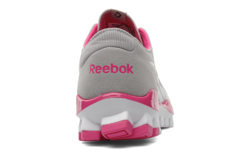 Sportschuhe Reebok Realflex Fusion Tr grau ansicht von rechts