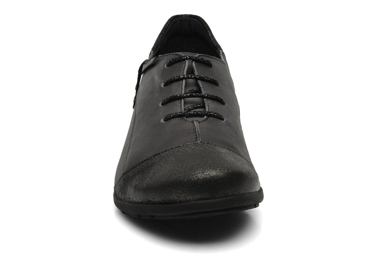 Gazina claudia dark brown/podium d,grey