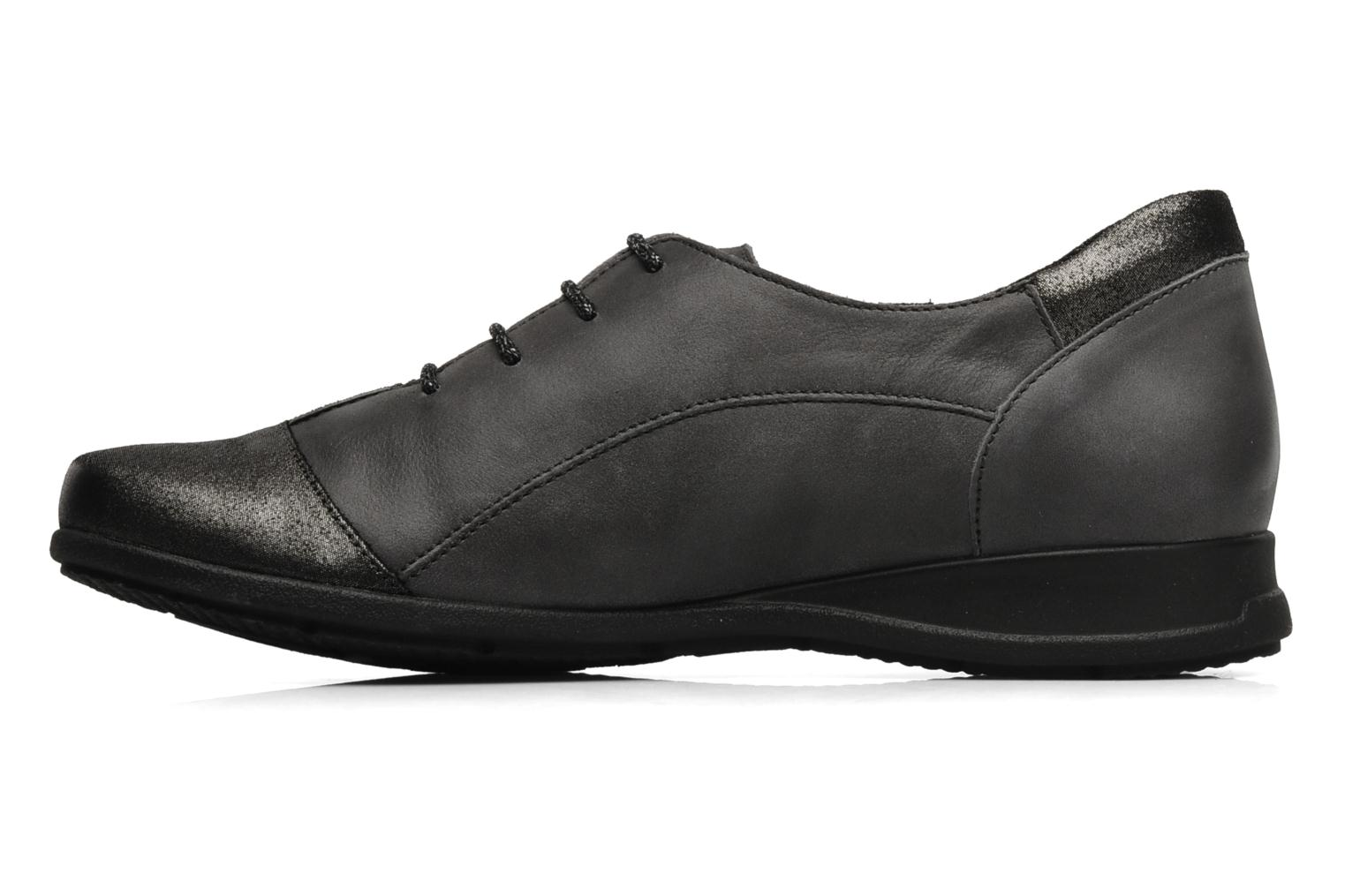Lace-up shoes Mephisto Gazina Grey front view