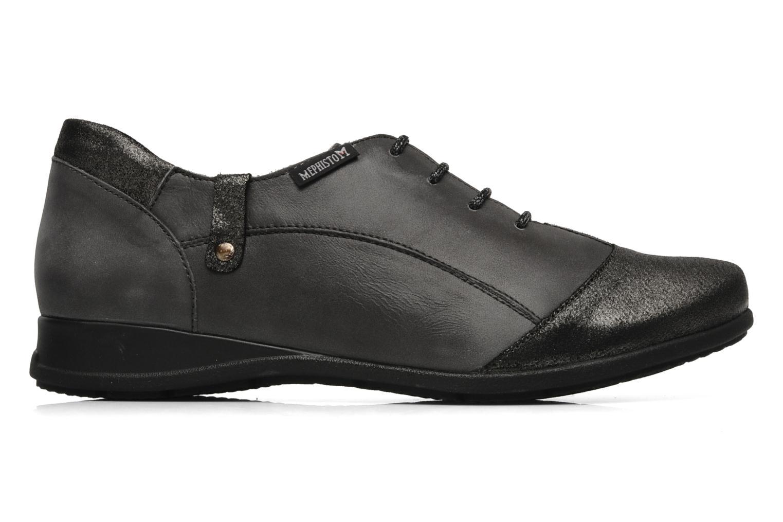 Lace-up shoes Mephisto Gazina Grey back view