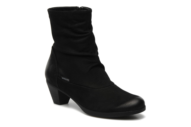 Ankelstøvler Mephisto Zest Sort detaljeret billede af skoene