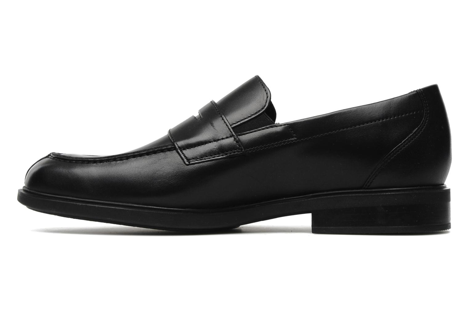 Loafers Mephisto Fortino Black front view