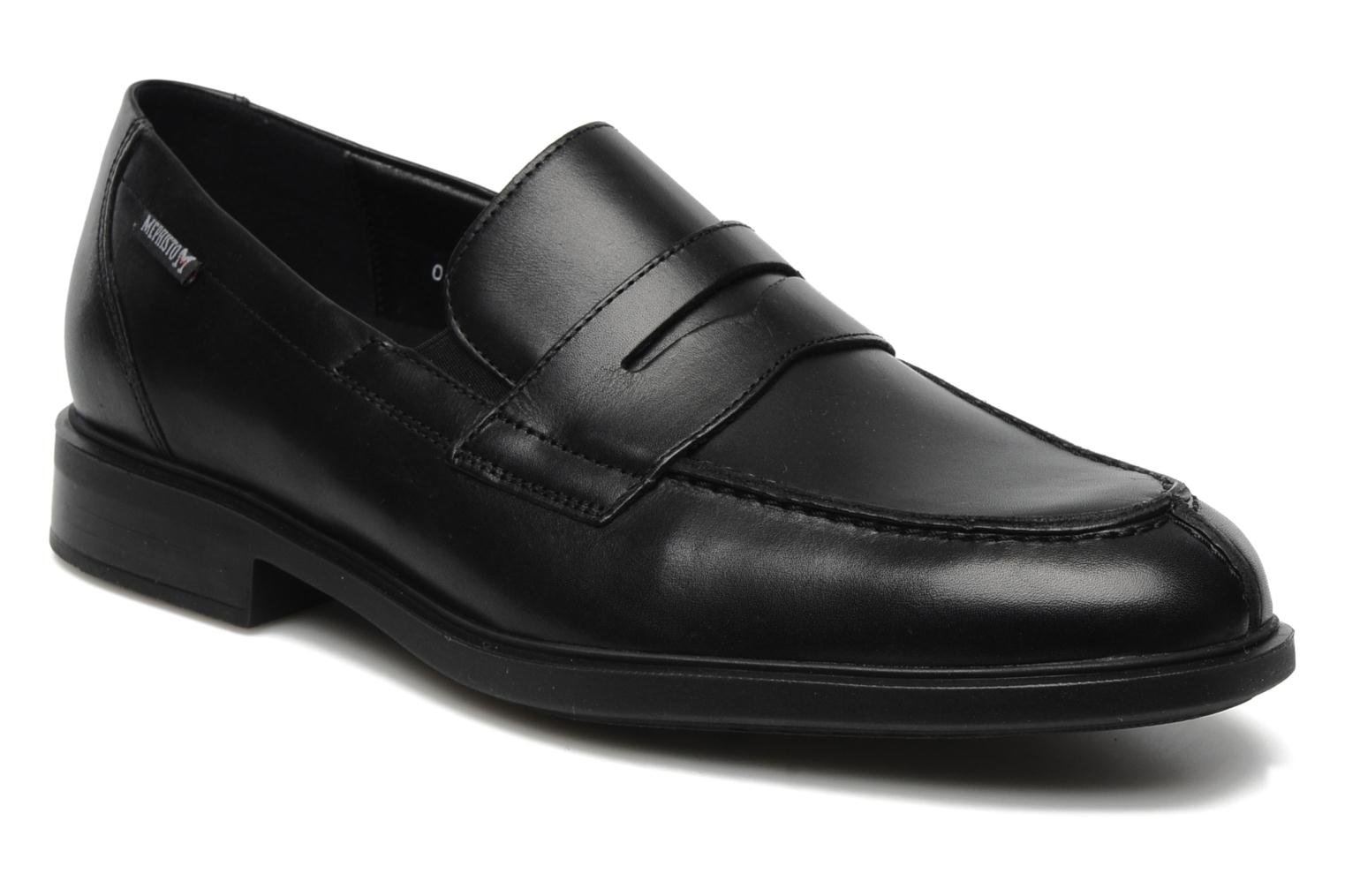 Loafers Mephisto Fortino Black detailed view/ Pair view
