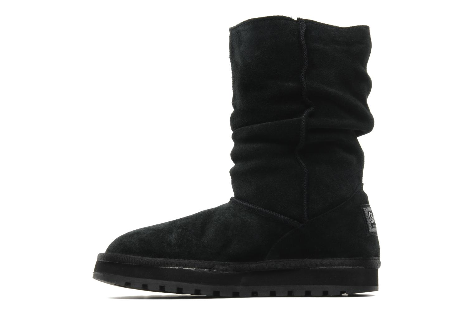 Bottines et boots Skechers Keepsakes Freezing Temps 47221 Noir vue face