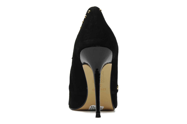 Bottines et boots Dune London Bad Boi Noir vue droite