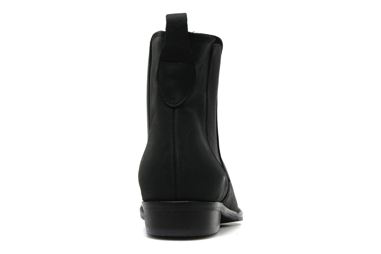 Bottines et boots Pavement Sloopy Noir vue droite