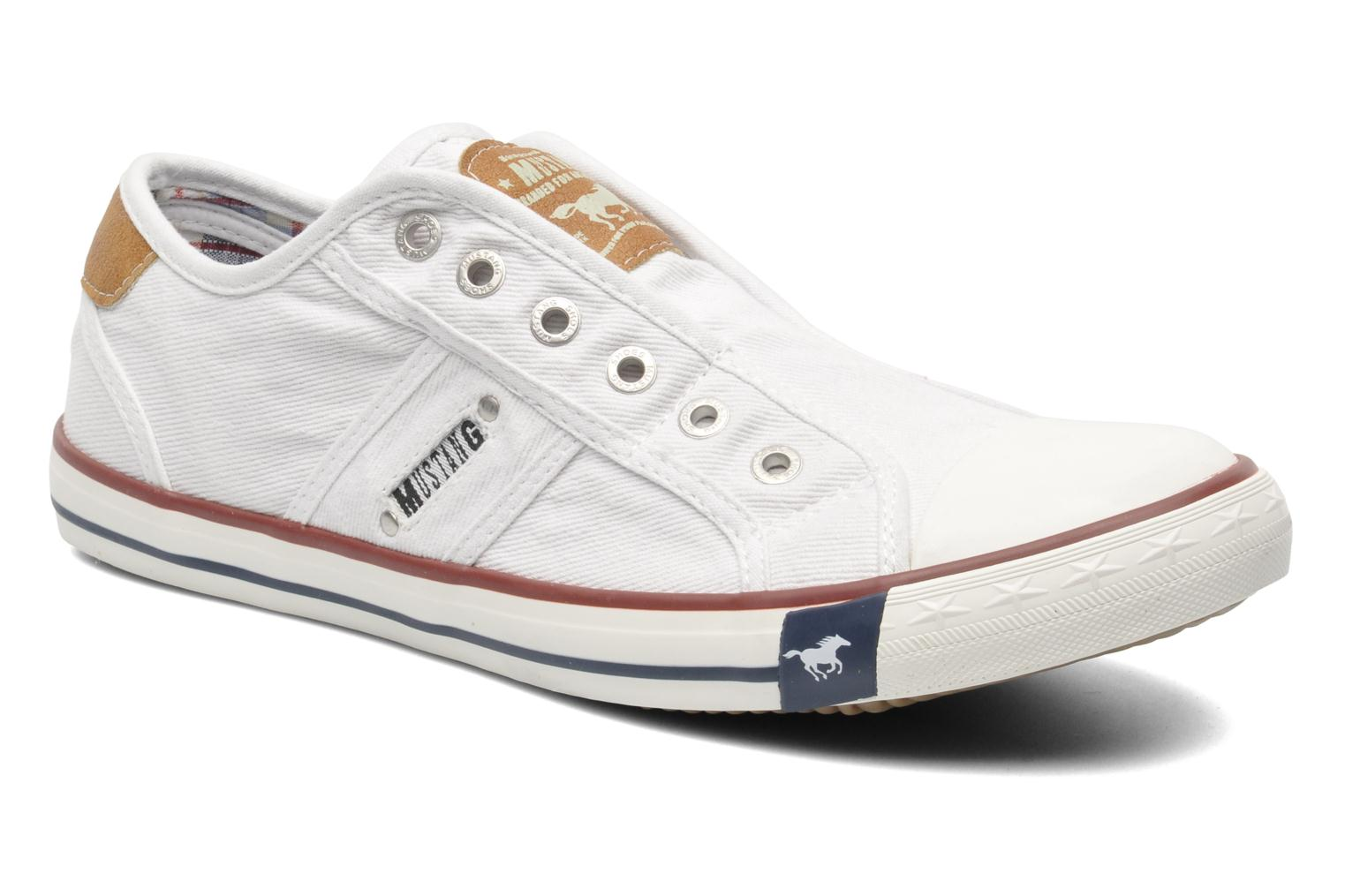 Mustang shoes Marco (Blanc) - Baskets chez Sarenza (221411)