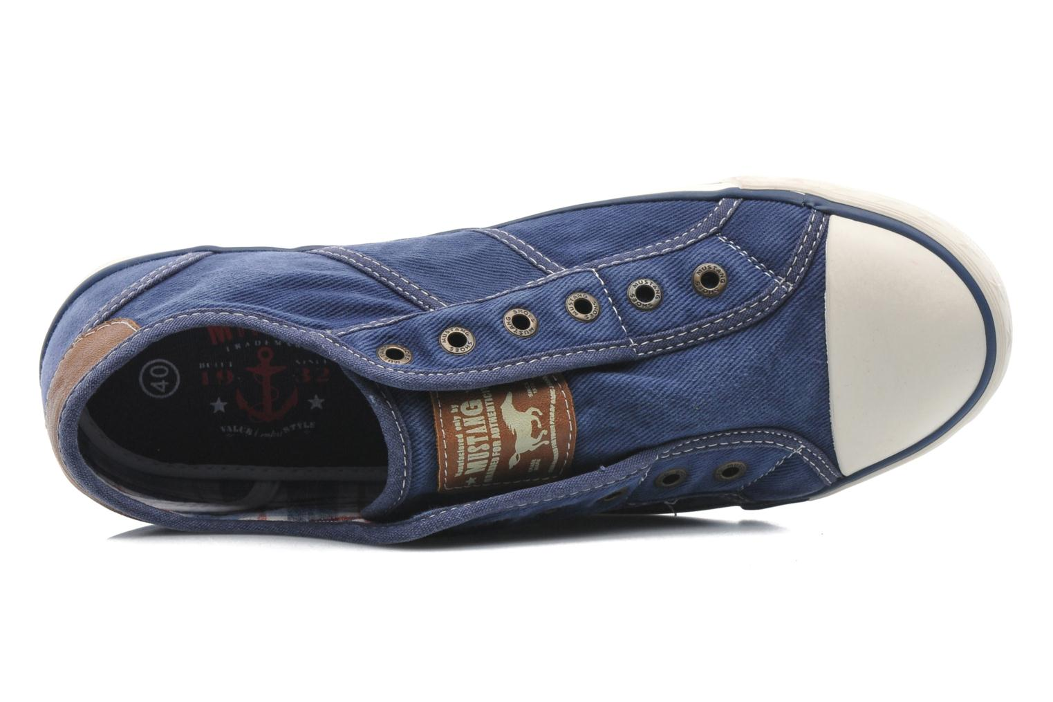 Sneakers Mustang shoes Marco Blauw links