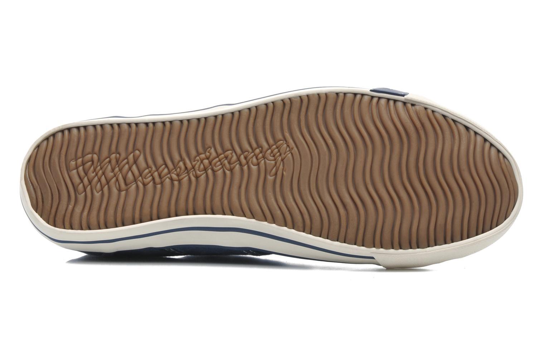 Baskets Mustang shoes Marco Bleu vue haut