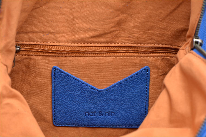 Handbags Nat & Nin Carrie Blue back view