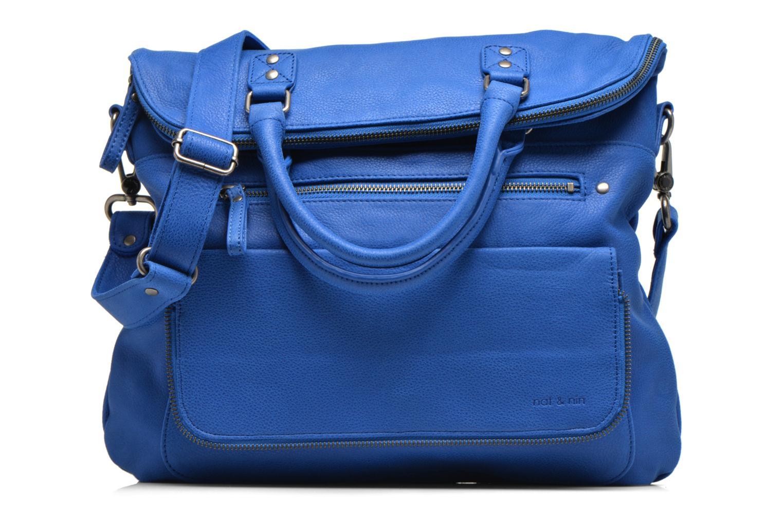 Handtassen Nat & Nin Carrie Blauw detail
