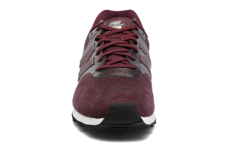 Sneaker New Balance WR996 lila schuhe getragen