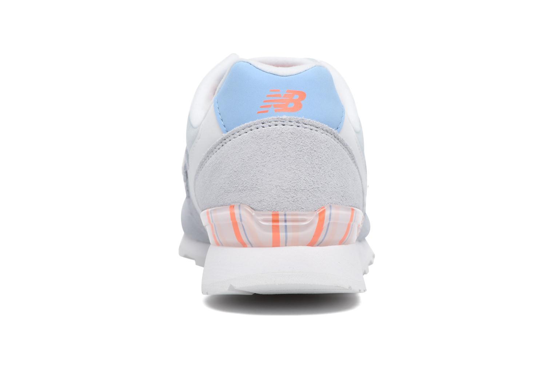 Sneaker New Balance WR996 grau ansicht von rechts