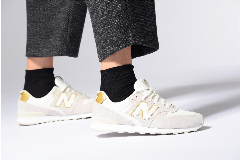 Sneakers New Balance WR996 Bianco immagine dal basso