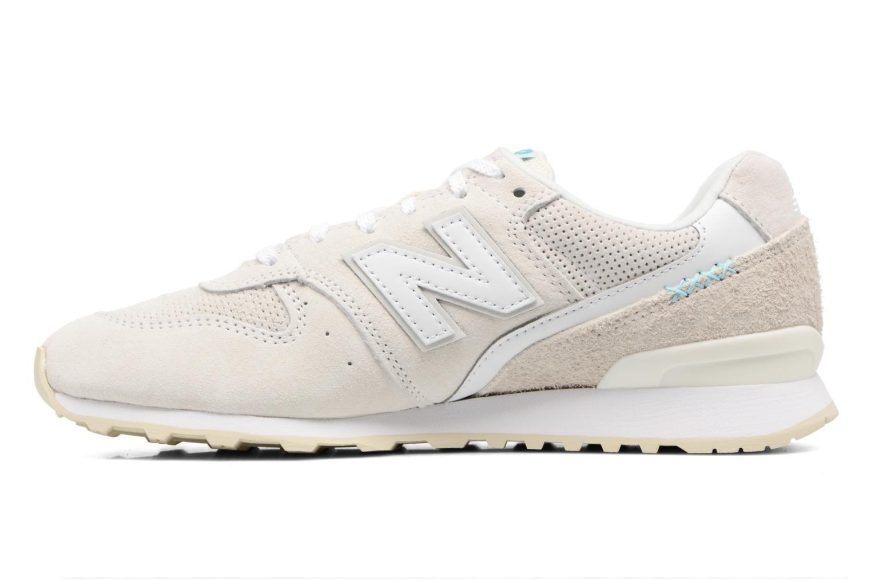 Sneaker New Balance WR996 weiß ansicht von vorne
