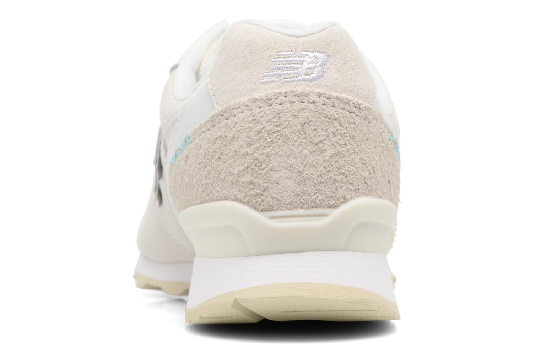Sneaker New Balance WR996 weiß ansicht von rechts