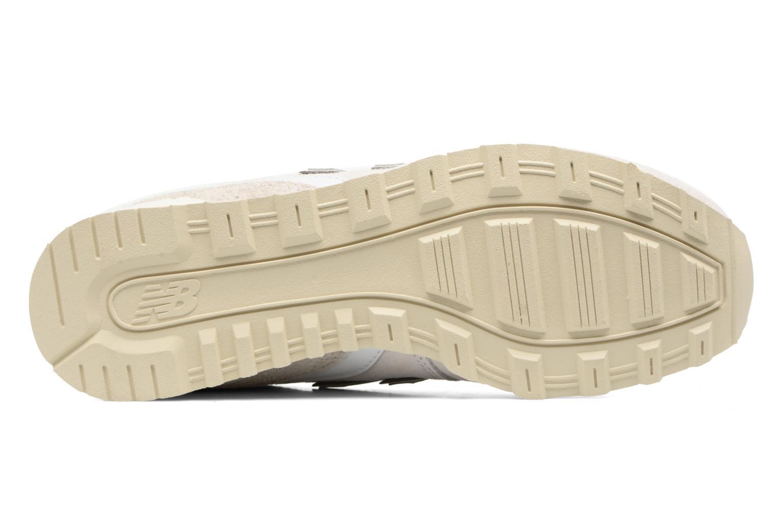 Sneaker New Balance WR996 weiß ansicht von oben