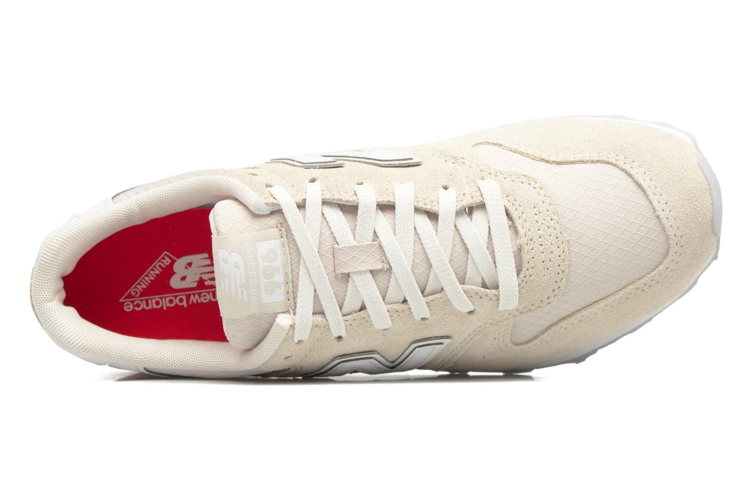 Trainers New Balance WR996 Beige view from the left