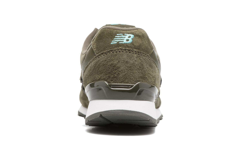 Sneakers New Balance WR996 Grøn Se fra højre