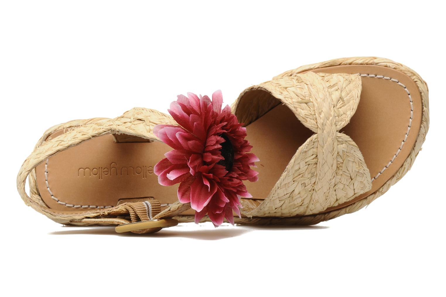Sandals Mellow Yellow Noe Beige view from the left