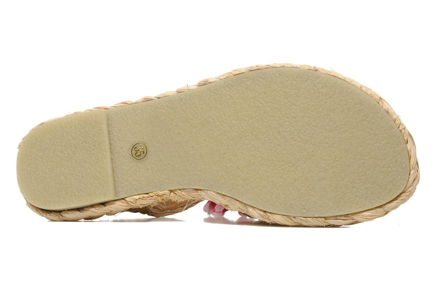 Sandals Mellow Yellow Noe Beige view from above